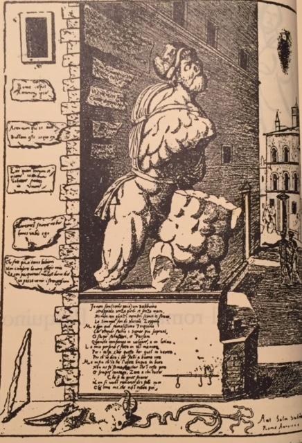 Pasquino - Antoine Lafrery 1550